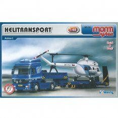 Mercedes Actros MS 58 - Helitransport