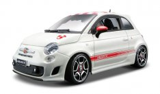 Bburago Abarth 500 (2008), metal kit