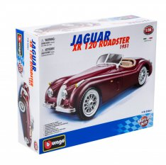 Bburago Jaguar XK 120 Roadster (1951), metal kit