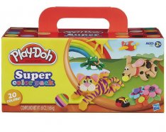 Play-Doh Super Color Pack, 20 téglikov