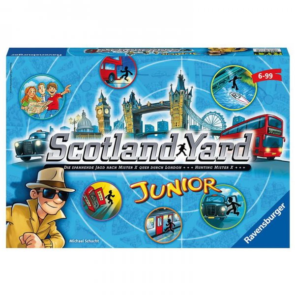 Ravensburger Scotlant Yard junior hra
