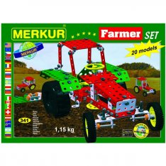Merkur Farmer set, 341 ks, 20 modelov