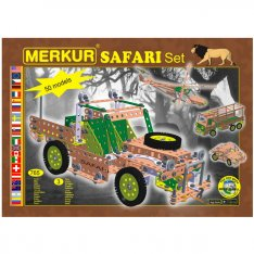 Merkur Safari set, 765 ks, 50 modelov