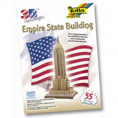 Folia 3D-Model Empire State Building, 55 dielov