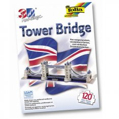 Folia 3D-Model Tower Bridge, 120 dielov