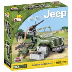 Jeep Willys MB 24092 s gulometom, 90k+1f
