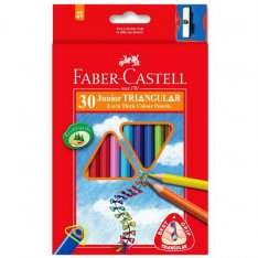 Faber Castell Pastelky Junior Grip, 30 ks