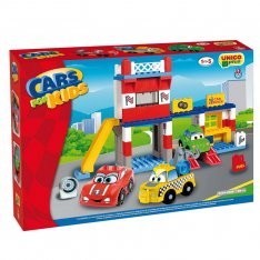 Unico stavebnica Cars for Kids Autoservis, 108ks