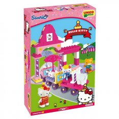 Unico stavebnica Hello Kitty - Fun Park Vláčik, 51 ks