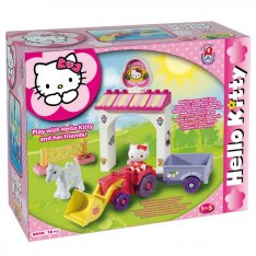 Unico stavebnica Hello Kitty - Mini farma, 18 ks