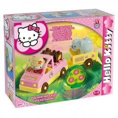 Unico stavebnica Hello Kitty - Mini Safari, 7 ks