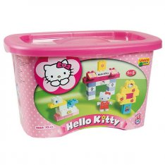 Unico stavebnica Hello Kitty v boxe, 73 ks
