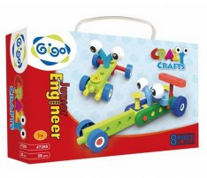 Gigo 7266 stavebnica Junior Engineer - Crazy Crafts, 28 ks
