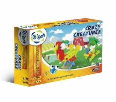 Gigo 7265 stavebnica Junior Engineer - Crazy Creatures, 26 ks
