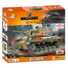 World of Tanks 3013 M24 Chaffee, 370k+1f