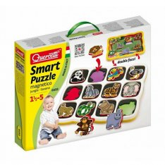 Quercetti Smart Puzzle magnetico Jungle