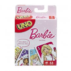 Uno karty Barbie