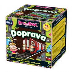 BrainBox V kocke! Doprava