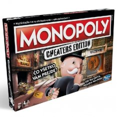 Hasbro Monopoly Cheaters SK