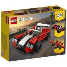Lego Creator 31100 Športiak 3v1, 134 ks