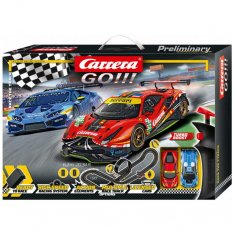 Carrera Autodráha GO 62526 - Race the Track