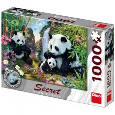 Dino Puzzle Pandy secret collection, 1000 dielikov